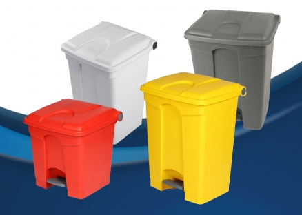 Step-On Container Pedal Bins