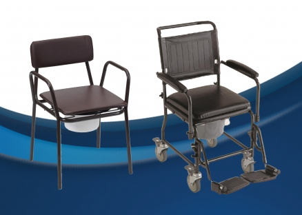 Assistive Commode Chairs Including Bariatric Options