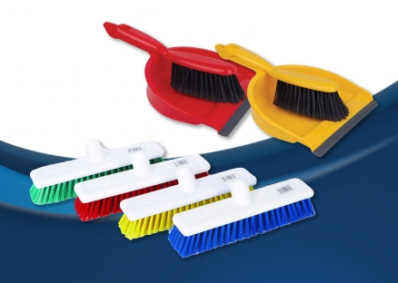 Dustpans, Brushes & Brooms