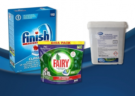 Dishwash Powders & Tablets