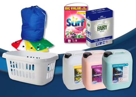 Laundry Chemicals & Equipment