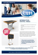 Interactive Digital Table Product Awareness