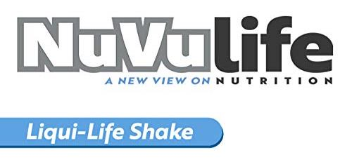 NuVulife, A New View On Nutrition - Liqui-Life Shake