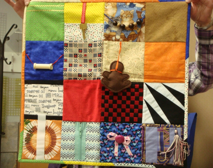What S A Busy Blanket Amp How Can It Help Those Living With Dementia