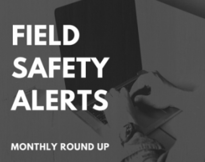 CLH Blog - MHRA Field Safety Updates For December 2019