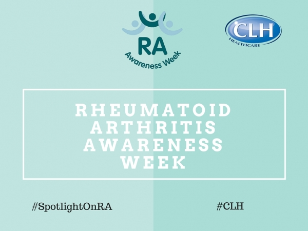 CLH Blog - Rheumatoid Arthritis Awareness Week 13-19 June 2016