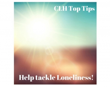 CLH Blog - Top tips to help tackle loneliness