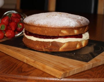 National Baking Week: Rowena's Victoria Sponge Cake
