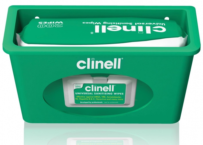 clinell® Wall Mountable Dispenser for Universal Wipes photo 3