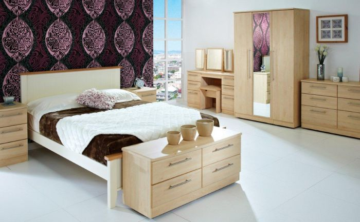 wood italian best furniture natural modern set maple light bedroom