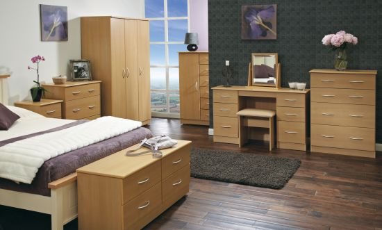Avon Beech Bedroom Furniture Range Clh Group