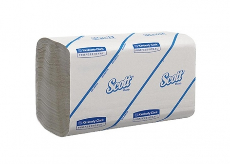 Scott 6663 White 1 Ply Paper Hand Towel