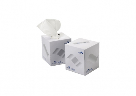 Luxury Cube 2 Ply Facial Tissues