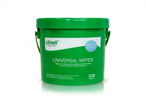 clinell® Universal Sanitising Wipes - Tub
