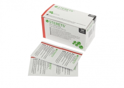 Sterets Pre Injection Cleansing Swabs