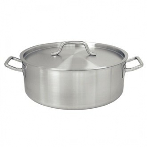4½ Litre Vogue Stainless Steel Casserole Pan