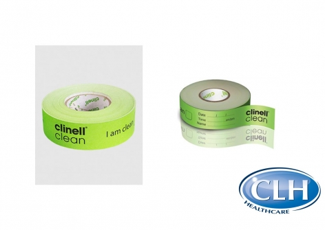 clinell® Clean Indicator Tape - 100m Roll
