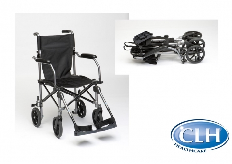 TraveLite Aluminium Transport Chair