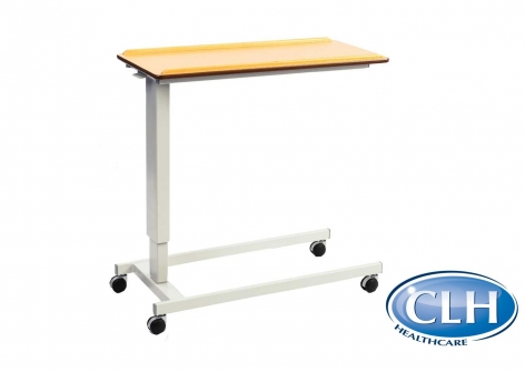 Easy Lift Rise and Fall Overbed Table with Standard Base
