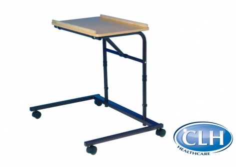 Over Chair Tilting Table on Castors, Adjustable Height