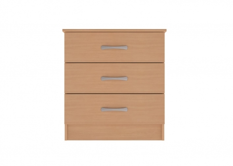Classic 3 Drawer Chest in Lissa Oak