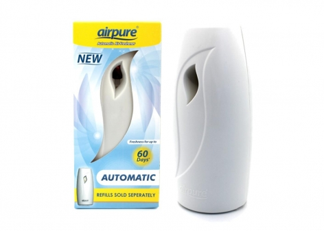 Airpure Automatic Air Freshener Dispenser - For 250ml Refills