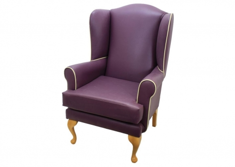 Queen Anne Lounge Chair