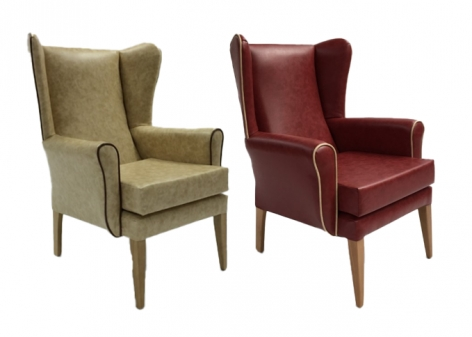 Quantum High Back Wing Chairs
