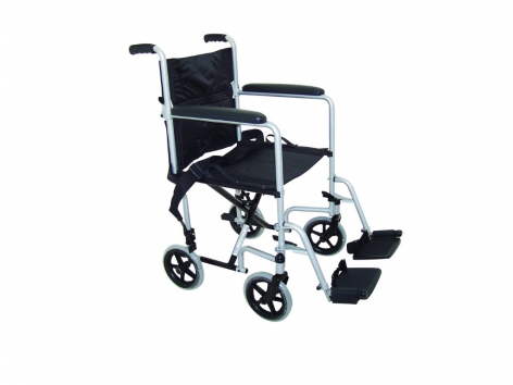ZT-600-600 Folding Steel Transfer Wheelchair