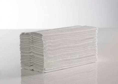 White 2 Ply C-Fold Flushable Hand Towels