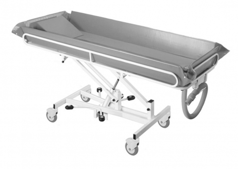 Hydraulic Height Adjustable Shower Trolley