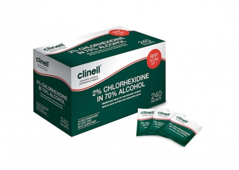 clinell® Green Wipes - for Medical Equipment