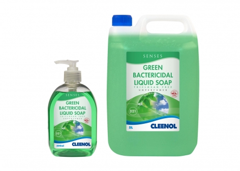 Senses Green Bactericidal Liquid Soap