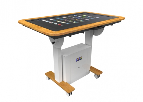 "Interactive Digital Touch Table 32"" Display Screen - Adjustable Height"