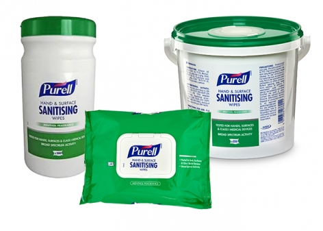 Purell® Hand & Surface Sanitising Wipes