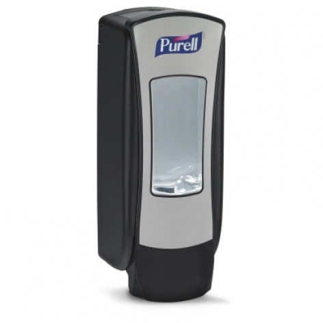 GoJo Purell ADX Brushed Chrome/Black 1200ml Dispenser