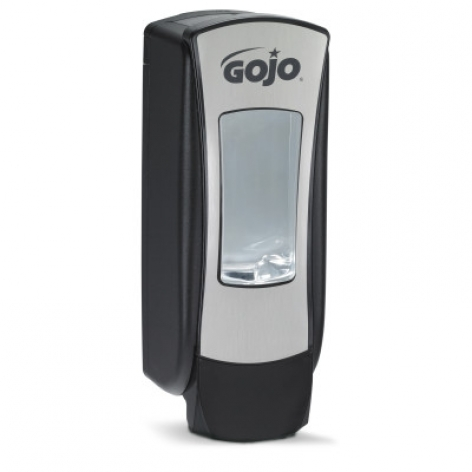 GoJo ADX Brushed Chrome/Black 1200ml Dispenser