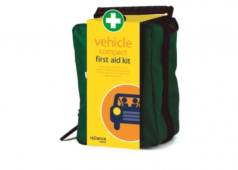 Compact Vehicle First Aid Kit