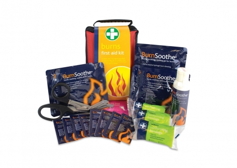 Burns First Aid Kit in Zipped Bag