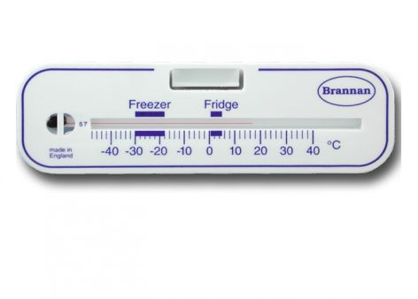 Horizontal Fridge/Freezer Thermometer