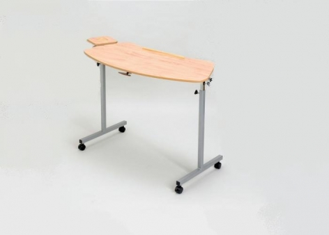 Overchair Tilting Table With Castors