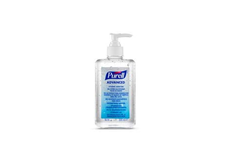 9263 Purell Advanced 300ml Hand Rub Pump Dispenser Bottle