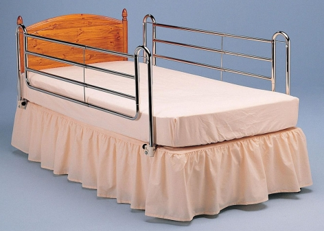 3 and 4 Bar Bed Rails for Divan and Hospital Beds