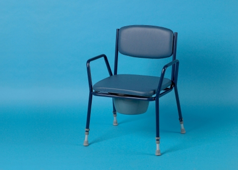 Blue Padded Seat For Adj. Height 521A / 521AD Commode