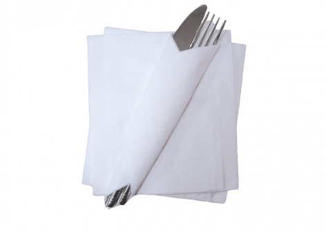Essentials Paper Napkins - White
