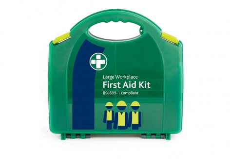 First Aid Kits - British Standard BS-8599 In Aura Box