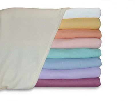Lightweight Thermal Polyester Knit Blankets
