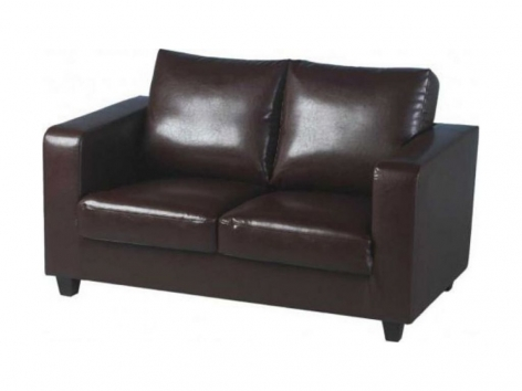 Faux Leather Tempo 2 Seater Tub Chairs