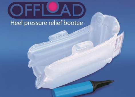 Offload Heel Pressure Relief Boot with Pump