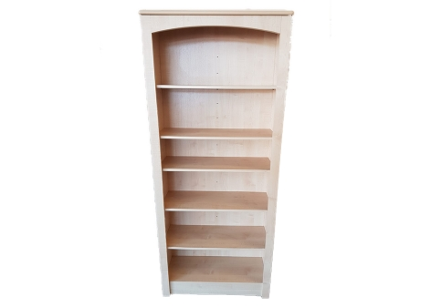 Epping Tall Bookcase Natural Finish